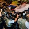 Гонконг: при разгоне «революции зонтиков» пострадали 56 человек