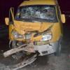 В Приморском крае Lada столкнулась с маршруткой: 1 человек погиб, 8 ранены