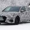 Новый седан Audi A3 тестируют на заснеженных дорогах Швеции