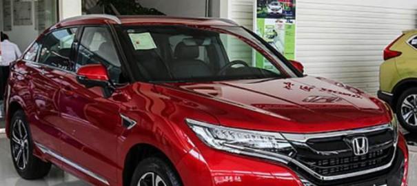 Honda обновила купе-кроссовер Honda UR-V