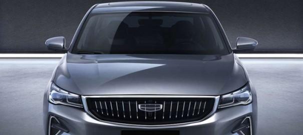 В Китае стартовал прием заявок на новый седан Geely Emgrand