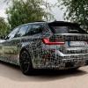 BMW опубликовала первое фото нового универсала M3 Touring