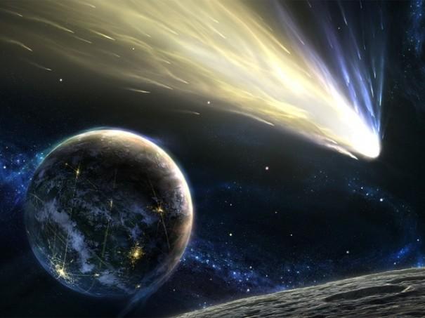 НаНовый год внебе можно будет наблюдать комету