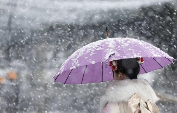 Число жертв от снегопада в Японии достигло 7-ми человек