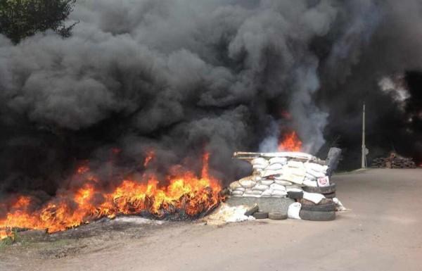 блокпост АТО Украина