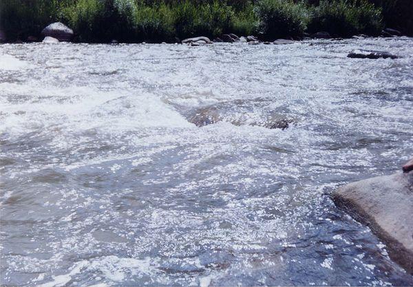 река в Казахстане
