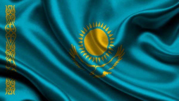 флаг и гимн Казахстана
