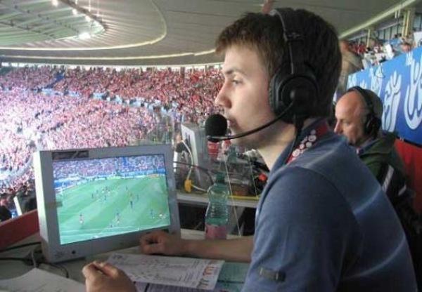Sports commentator