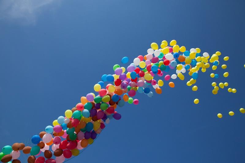 ВПетербурге полицейские ищут похитителей трёх тыс.  воздушных шариков