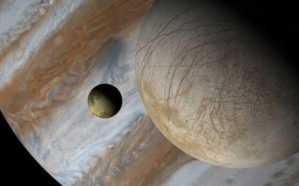 Европа Юпитер