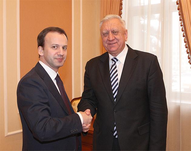 Дворкович и Семашко