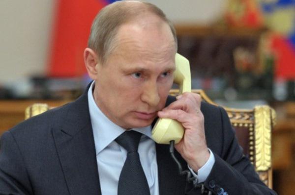 Путин телефон