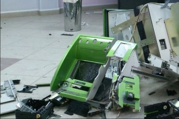 взорван банкомат