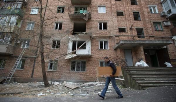 Разрушены дома