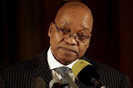 Джейкоб Зума президент ЮАР