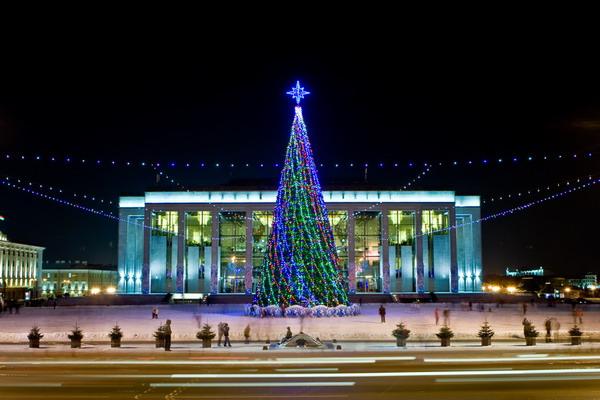 Минск новогодняя елка