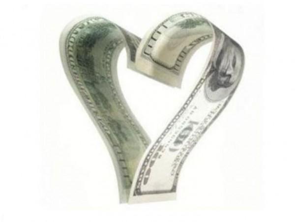 деньги сердце