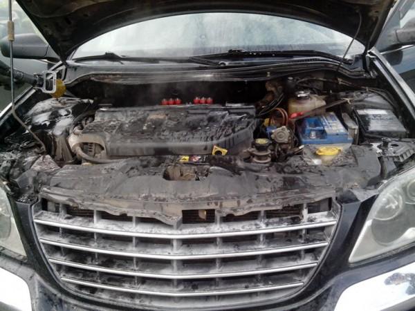 Chrysler сгорел