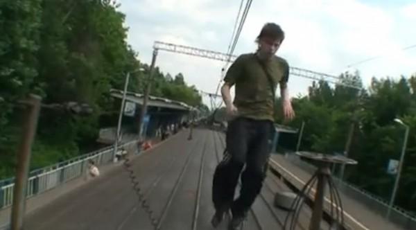 мальчик на поезде