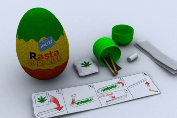 марихуана киндер-сюрприз