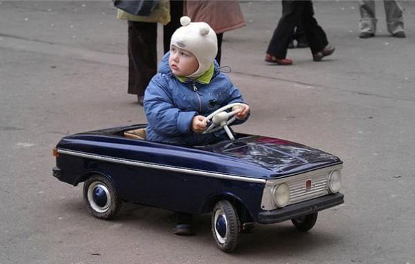 ребенок авто