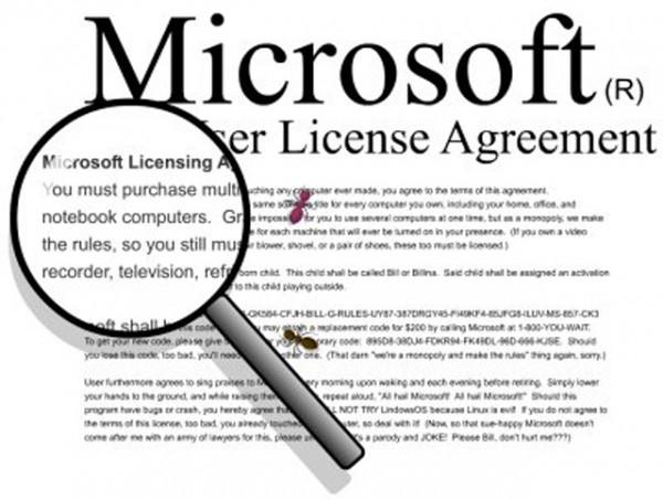 лицензия Microsoft