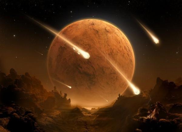луна метеорит