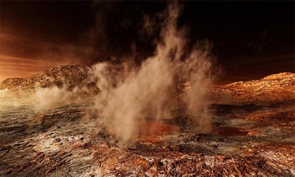 бури на Марсе