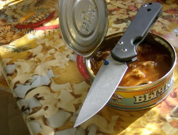 нож консервы