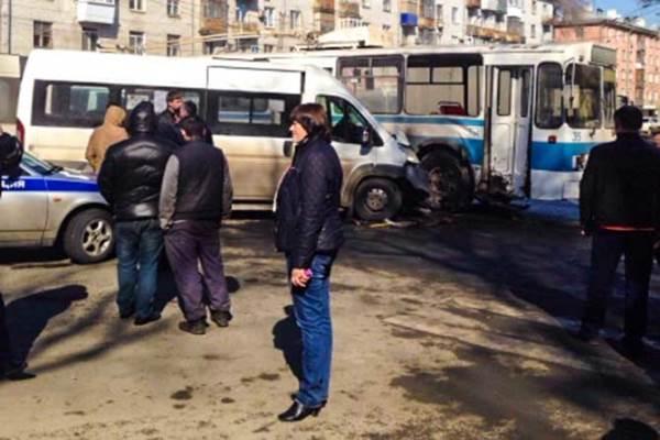 ДТП троллейбус