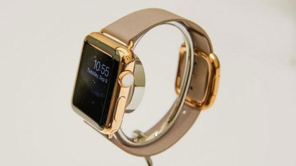 золотые Apple Watch