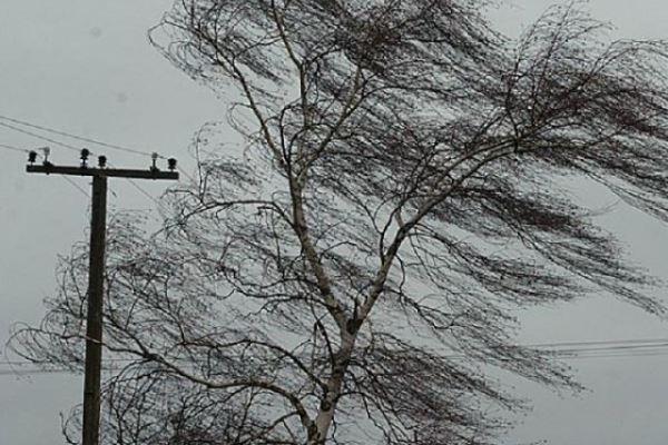 порывы ветра