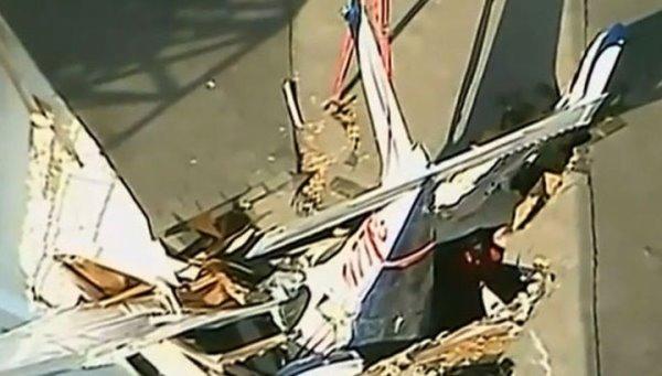 самолет упал