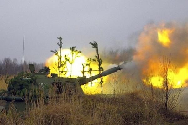 обстрел танков