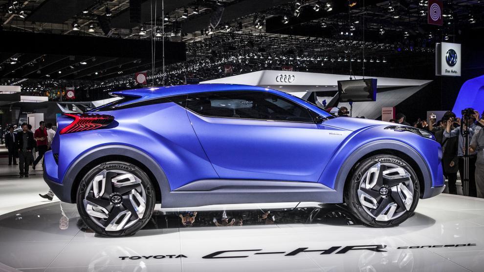 Новый кроссовер Toyota— конкурент Hyundai ix25— выйдет весной следующего года