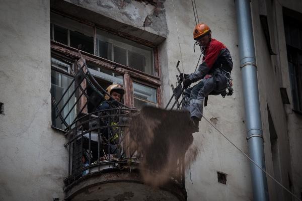 обрушение балконов