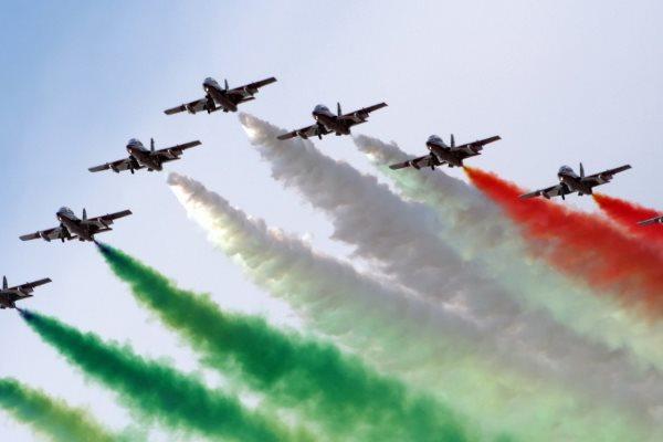 авиашоу в Италии