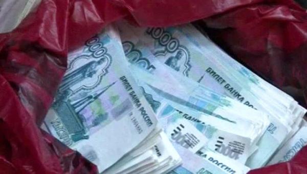 сумка деньги