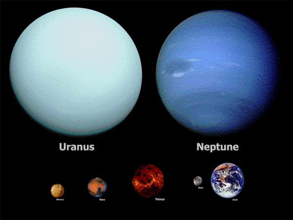 Уран, Нептун