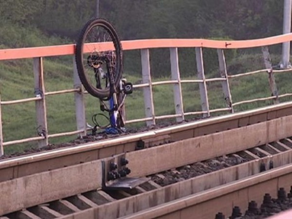 велосипед рельсы