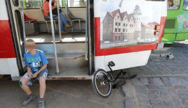 ДТП трамвай велосипед