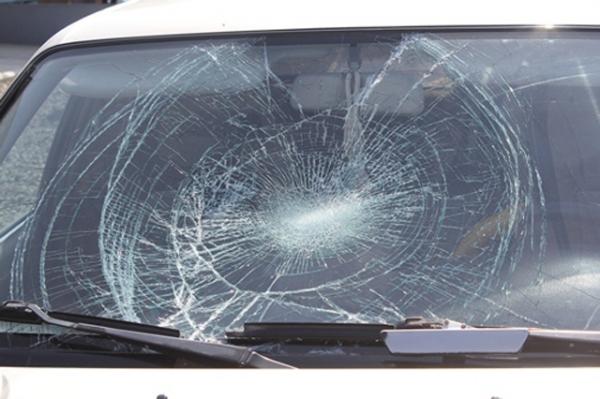 ДТП разбитое стекло