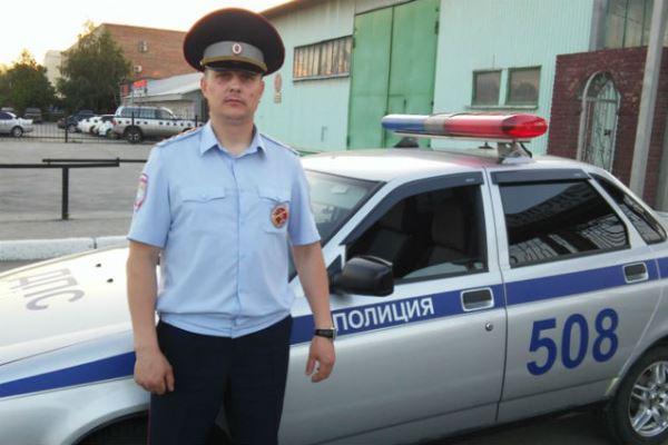капитан полиции Сергей Третьяков