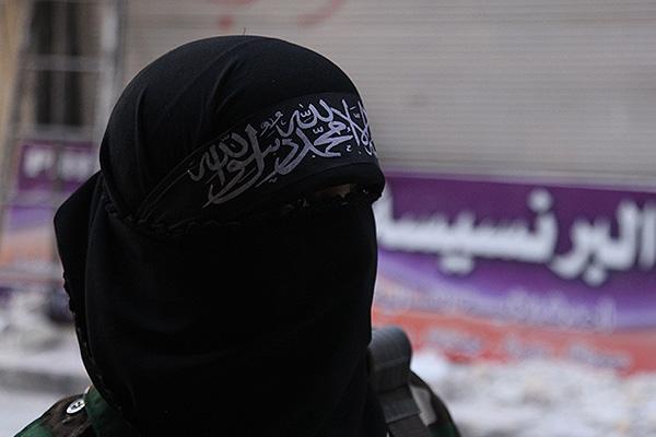 школьница в ИГИЛ