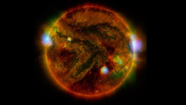 солнце в рентгеновском излучении