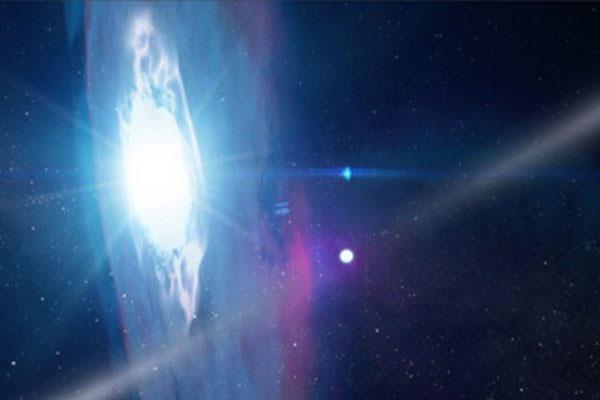 мощная космическая вспышка