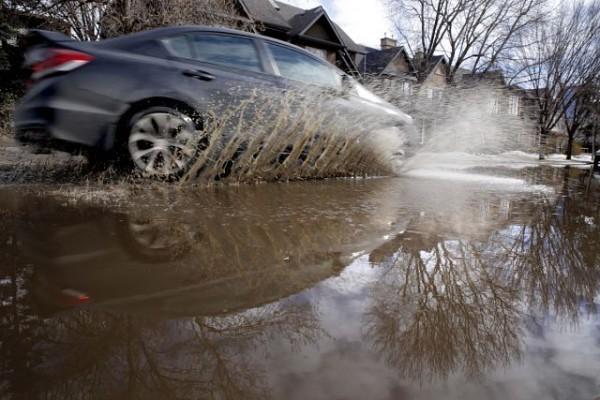 машина грязь