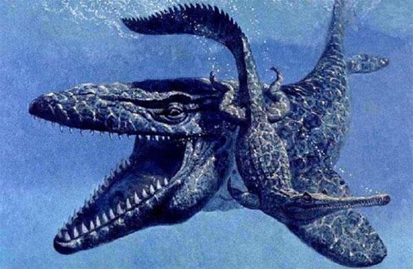 древний морской ящер