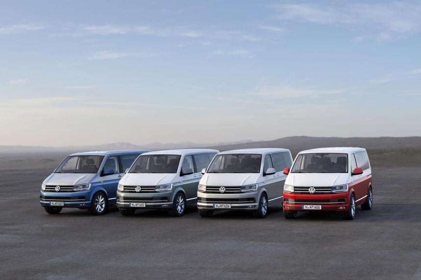 Transporter Caravelle и Multivan