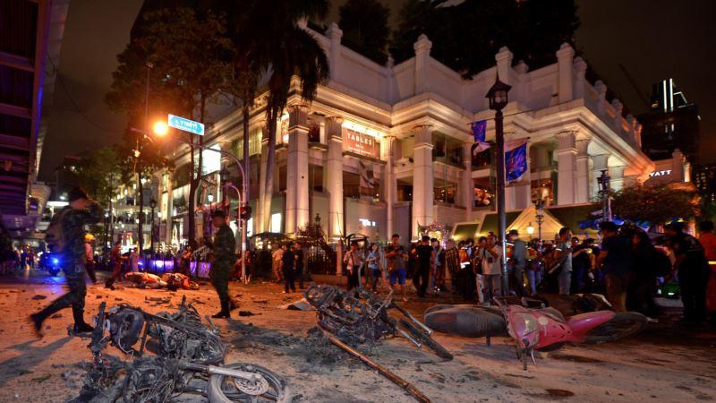 На территории Бангкока произошел еще один сильнейший взрыв Об этом передает Associated Press